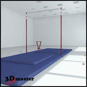 体操高杠 3d model