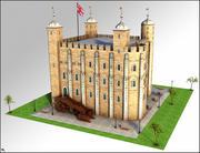 Tour de Londres 3d model