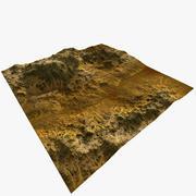 Gotowy do gry Desert Mod 2 Terrain 3d model