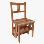 Chair-ladder 3d model