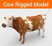 модель из коровьего снаряжения 3d model