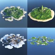 Collezione Isole 3d model