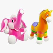 Fyllda leksaksuppsättning V3 3d model