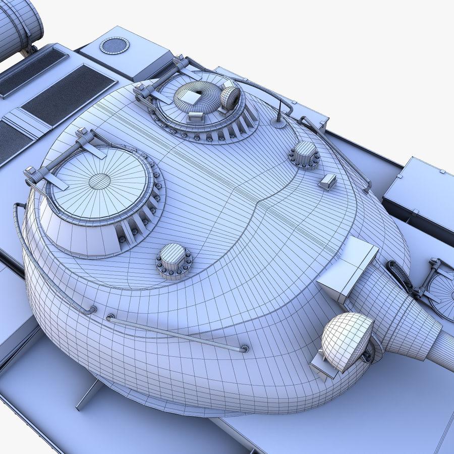 T55 Tank royalty-free 3d model - Preview no. 24