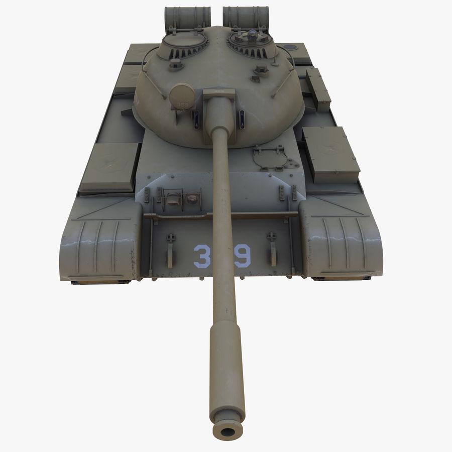 T55 Tank royalty-free 3d model - Preview no. 13