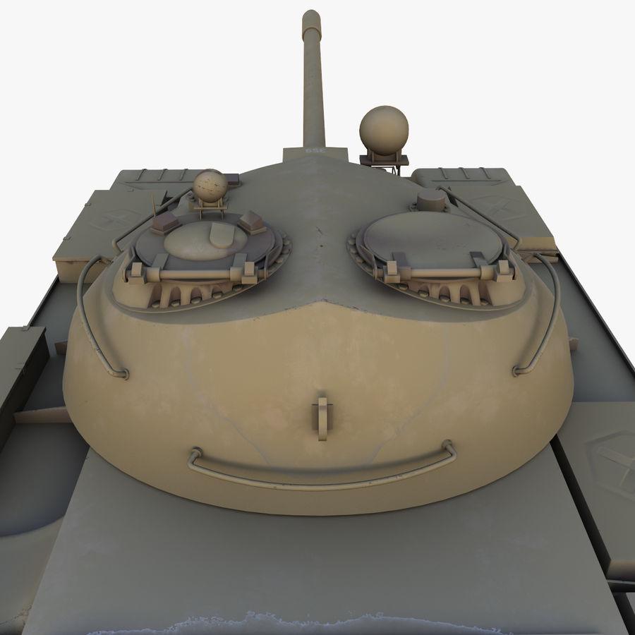 T55 Tank royalty-free 3d model - Preview no. 9