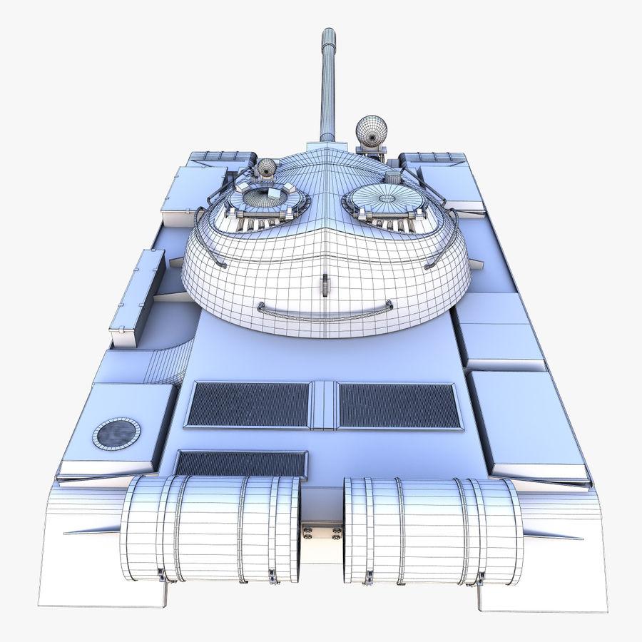 T55 Tank royalty-free 3d model - Preview no. 21