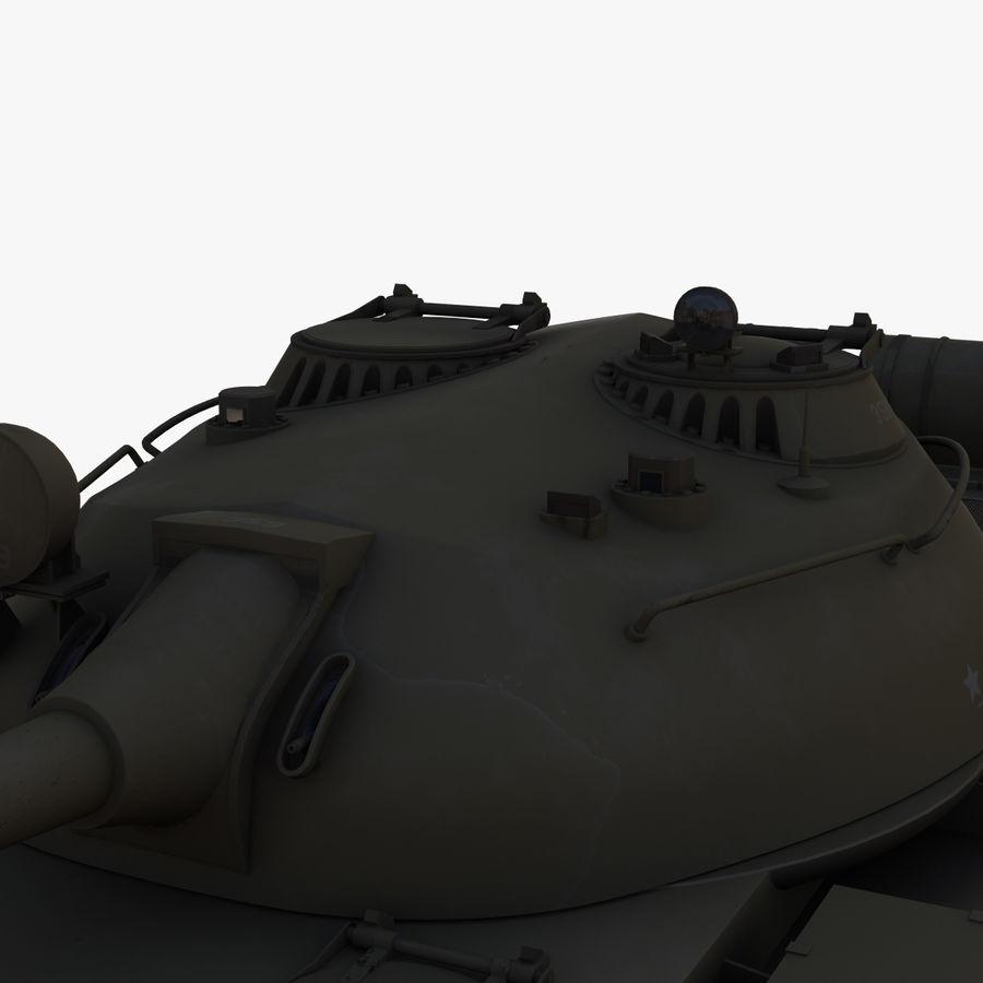 T55 Tank royalty-free 3d model - Preview no. 7