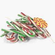 Christmas Candies 5 3d model