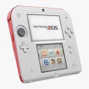 Handheld Console Nintendo 2DS 3d model