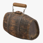 Old Rum Keg 3d model