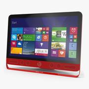 HP ENVY Beats All In One Multi Touch Desktop PC 3d model