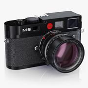 Leica M9 Svart 3d model