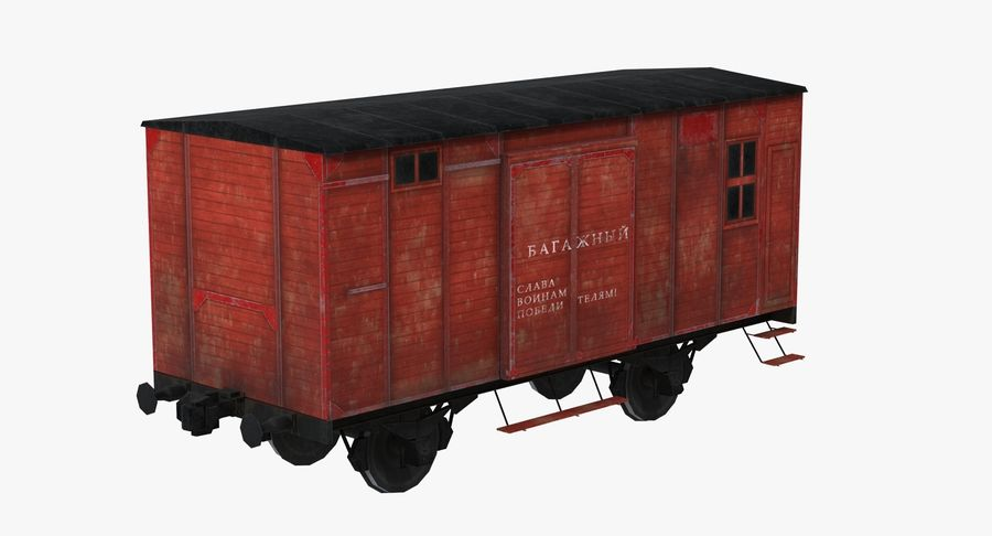 Wagon royalty-free 3d model - Preview no. 8