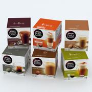 Nescafe Dolce Gusto Kahve Kutuları Koleksiyonu 3d model