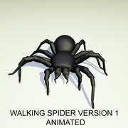 Geanimeerde Walking Spider versie 1 3d model