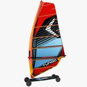 윈드 서핑 마운틴 보드 3d model