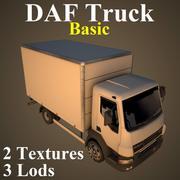 卡车基础 3d model