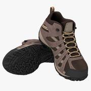 Chaussures de randonnée 3d model