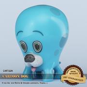Cartoon Dog 3D 3d model