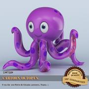Cartoon Octopus 3D 3d model