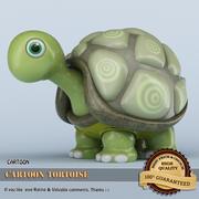 Kaplumbağa çizgi film 3d model