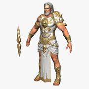 Zeus Character 3d model