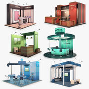 Exhibition Stands 3d model