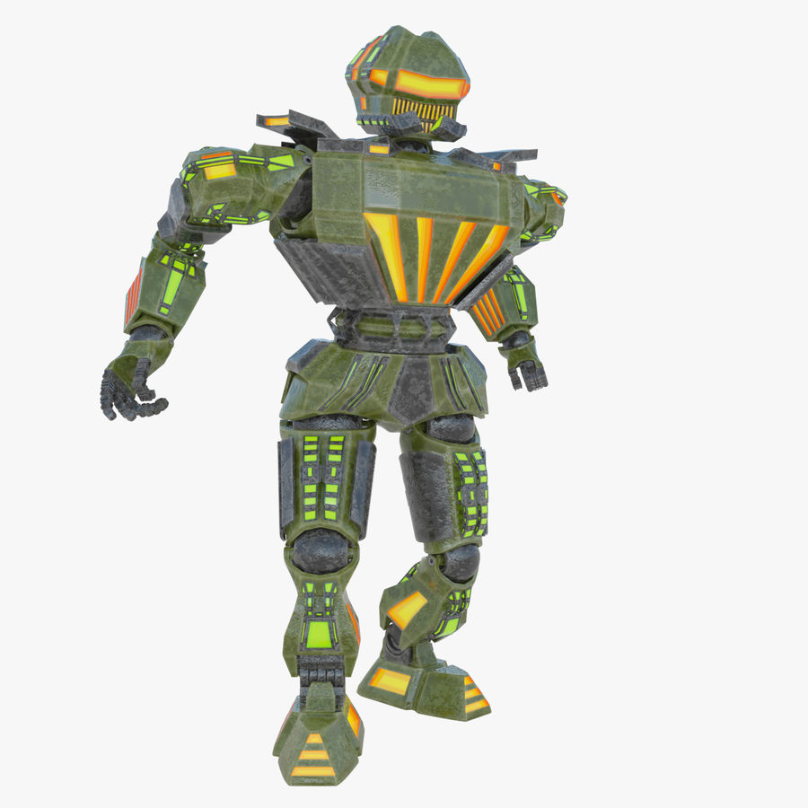 Nuclear Android royalty-free 3d model - Preview no. 6
