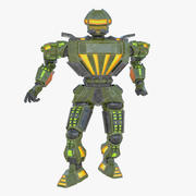 Nuclear Android 3d model