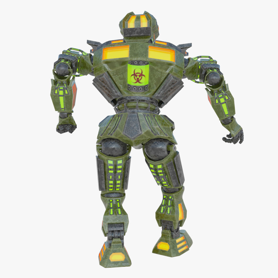 Nuclear Android royalty-free 3d model - Preview no. 5