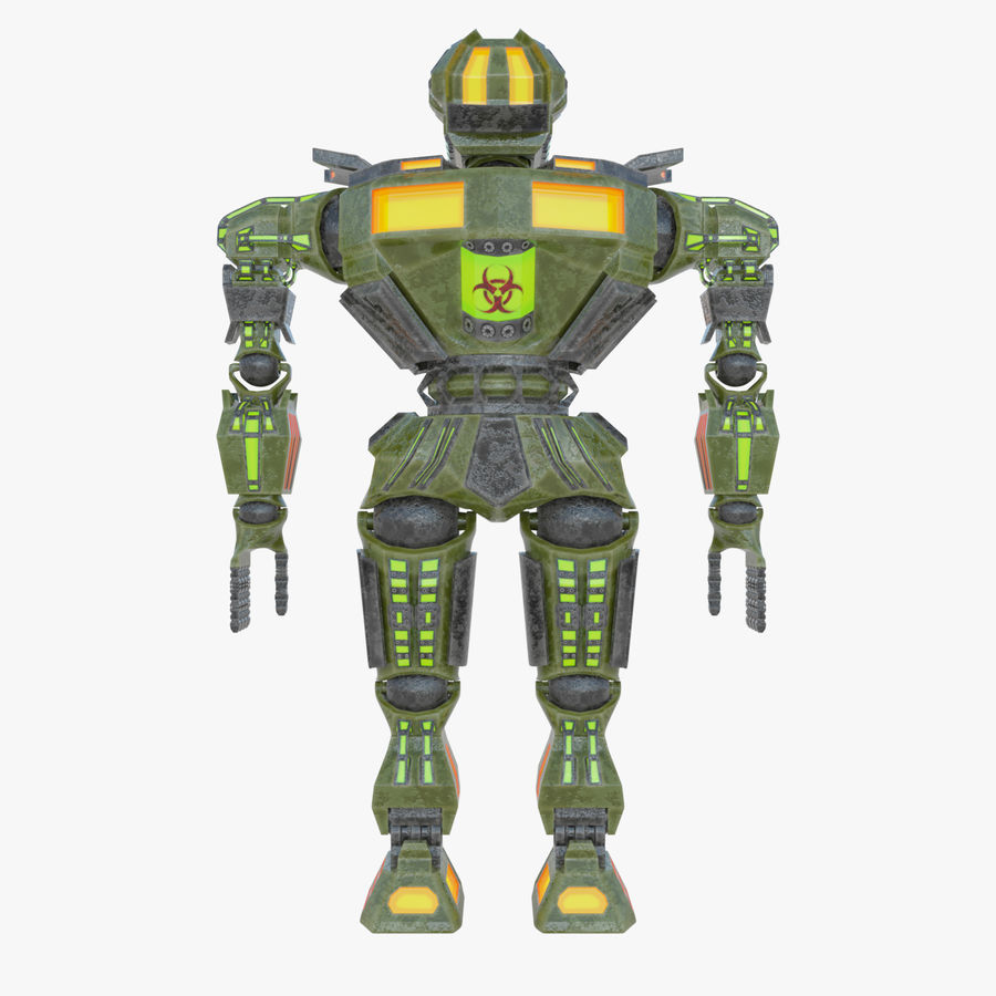 Nuclear Android royalty-free 3d model - Preview no. 10