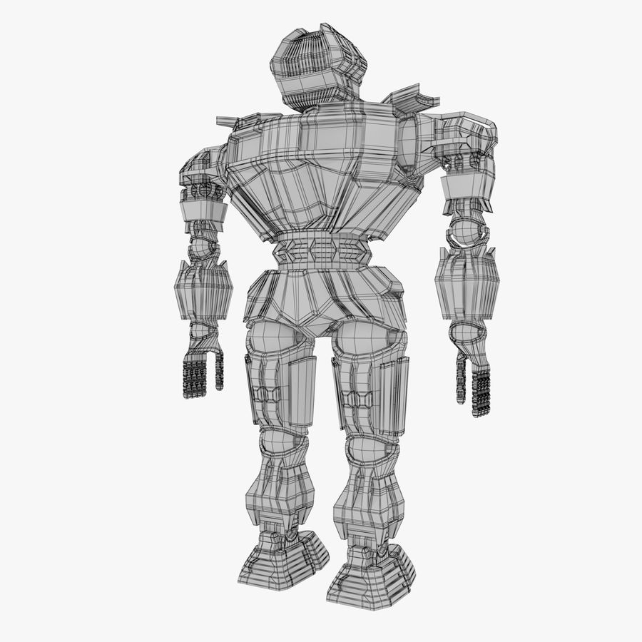 Nuclear Android royalty-free 3d model - Preview no. 14