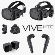 HTC Vive Deluxe Audio Strap Set 2017 3d model