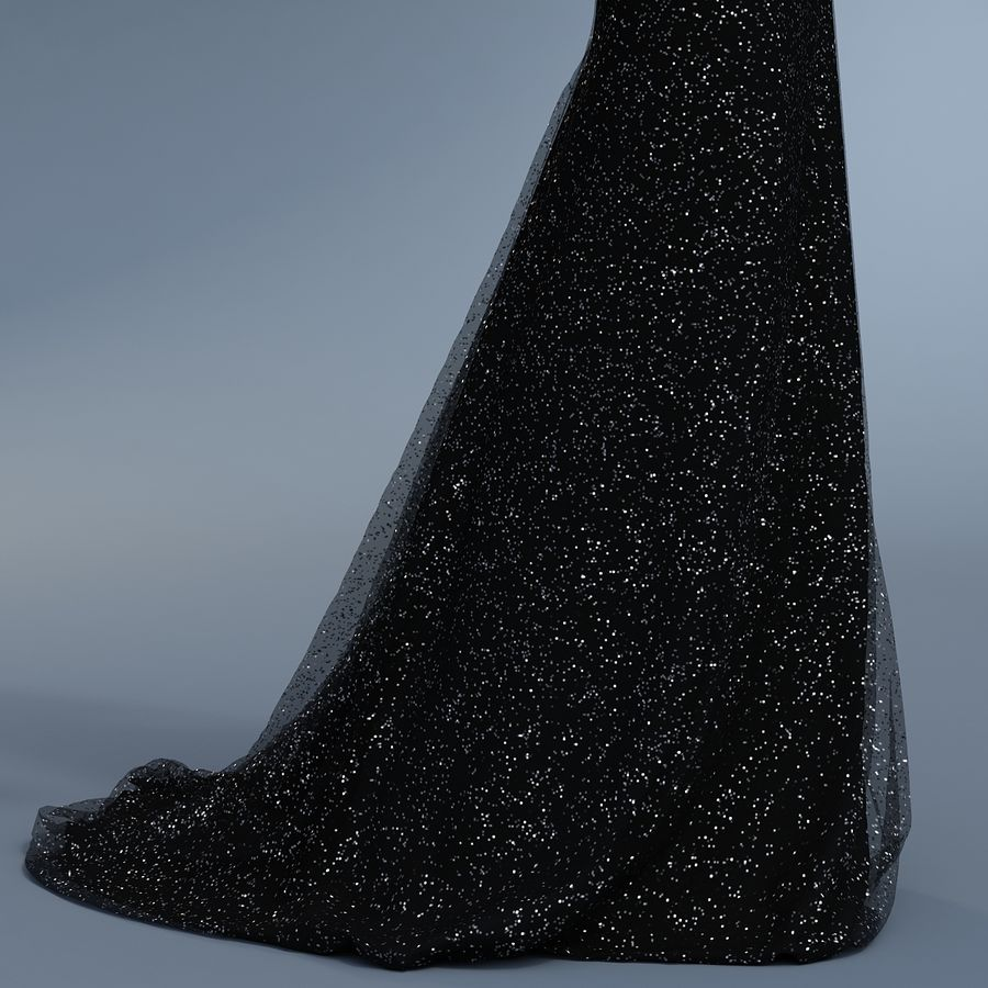 SHERRI HILL 50860 royalty-free 3d model - Preview no. 7