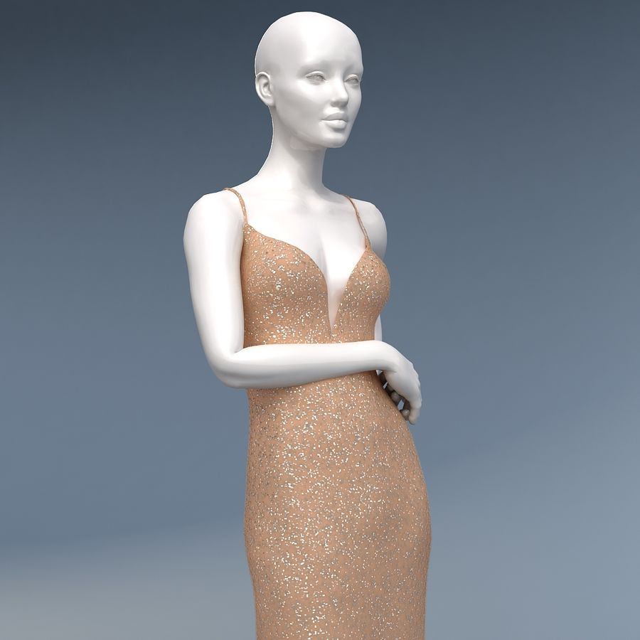 SHERRI HILL 50860 royalty-free 3d model - Preview no. 8