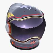Astronaut Helmet A (Textured) 3d model