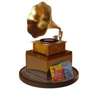 Horn Gramophone 3d model