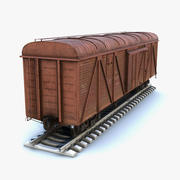 Güterwagen 3d model