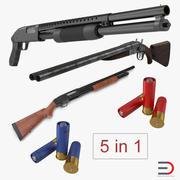 Shotguns 3D Modelsコレクション 3d model