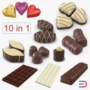 Chocolate 3D Models Collection 3d model