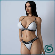 Beauty Woman 10 (Rigged) 3d model