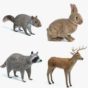 Animal Set 1 modelo 3d