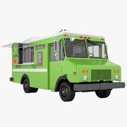 Food Truck 01 3d model