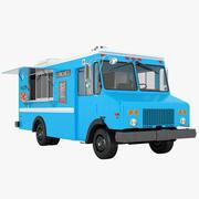 Food Truck 02 3d model