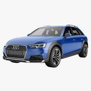 Audi A4 Allroad 04 3d model