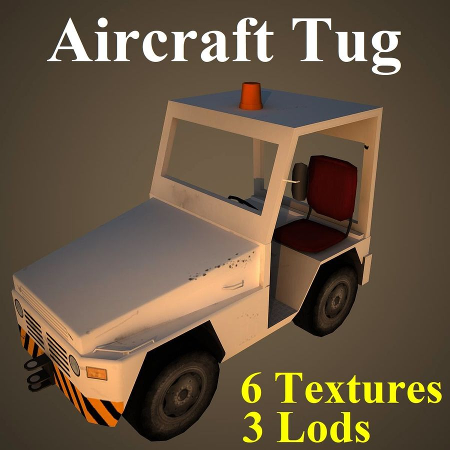 TUG2 royalty-free 3d model - Preview no. 1