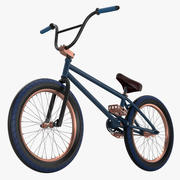 Bicicleta BMX modelo 3d