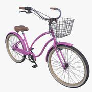 Realistyczny rower plażowy Cruiser Woman 3d model