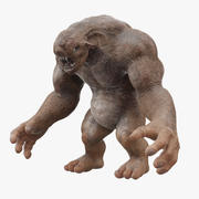 Kreatur / Troll 3d model